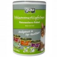 Grau Kennenlern-Paket Schlemmertöpfchen getreidefrei 4x100g