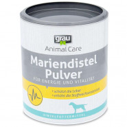 Grau Mariendistel Pulver