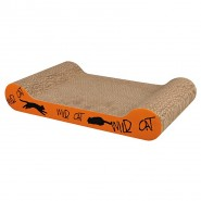 Kratzpappe Wild Cat, 41 x 7 x 24 cm, orange