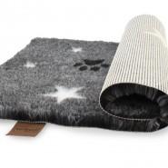Original Vetbed® Isobed SL anthrazit meliert Paws + Stars
