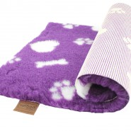 Original Vetbed® Isobed SL purple Hearts Paw+Bones