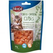 Premio Cheese Chicken Cubes, Huhn mit Käse 50g