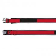 Premium Halsband, stufenlos verstellbar, rot