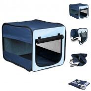 Transport-Hütte Twister, dunkelblau/hellblau