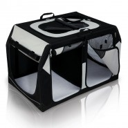 Transportbox Vario Double, S-M: 91 x 60 x 61/57 cm