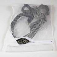 Wäschesäckchen, Nähte außen, 25 x 38 cm