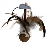 Steh-auf-Federball mit Maus, Plüsch 15 cm