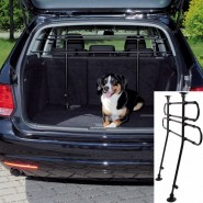 Auto-Gitter, 85-140 cm/75-110 cm, gewinkelt, schwarz