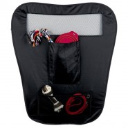 Auto-Sicherheitsabtrennung, faltbar, 60/44x69 cm, schwarz