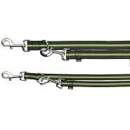 Fusion V-Leine, schwarz/grün