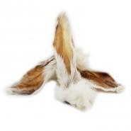 Futterfreund Kaninchenohren mit Fell 4 Stück