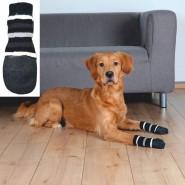 Hundesocken, Anti-Rutsch, 2St., schwarz