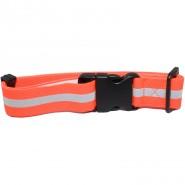 Hunter Warnband mit Steckverschluss, orange, reflektierend