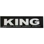 Julius-K9 Klettsticker, L, KING 2 Stk.
