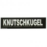 Julius-K9 Klettsticker, L, KNUTSCHKUGEL 2 Stk.