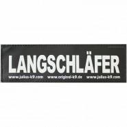 Julius-K9 Klettsticker, L, LANGSCHLÄFER 2 Stk.