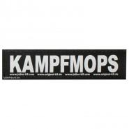 Julius-K9 Klettsticker, S, KAMPFMOPS 2 Stk.