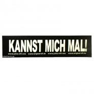 Julius-K9 Klettsticker, S, KANNST MICH MAL! 2 Stk.