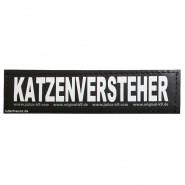 Julius-K9 Klettsticker, S, KATZENVERSTEHER 2 Stk.