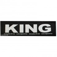 Julius-K9 Klettsticker, S, KING 2 Stk.