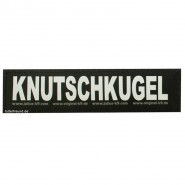 Julius-K9 Klettsticker, S, KNUTSCHKUGEL 2 Stk.