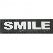 Julius-K9 Klettsticker, S, SMILE 2 Stk.