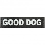 Julius-K9 Klettsticker, XS, GOOD DOG 2 Stk.
