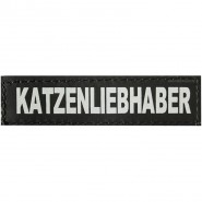 Julius-K9 Klettsticker, XS, KATZENLIEBHABER 2 Stk.