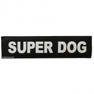 Julius-K9 Klettsticker, XS, SUPER DOG 2 Stk.