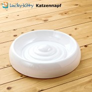 Lucky Kitty Keramik Katzennapf, Gr. M, 18cm