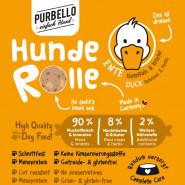 Purbello HundeRolle Ente mit Kartoffeln und Kräutern