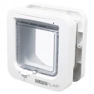 SureFlap 4-Wege Freilauftür m. Mikrochiperkennung 21x21 weiß