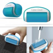 "Cyber Clean RollCare ""Travel"" abwaschbare Fusselrolle, blau"