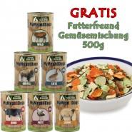 MyMeat4Dogs Test 6x400g + Gemüsemischung 500g