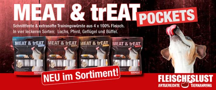 Fleischeslust Meat&Treat Pockets