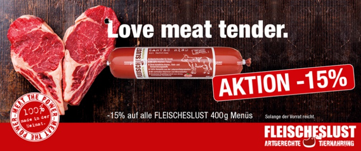 Fleischeslust 400g - 15%
