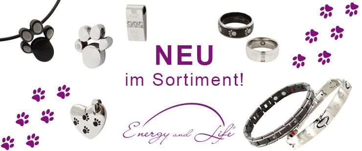 Energy and Life - Magnetschmuck