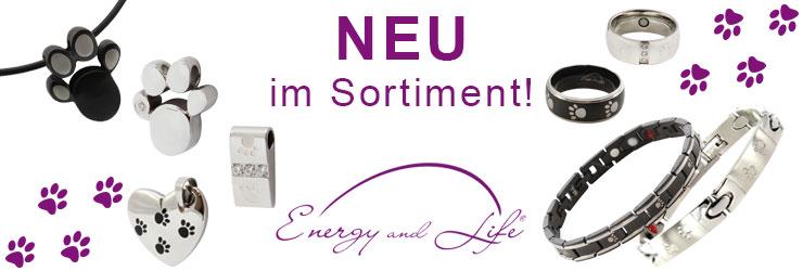 Energy and Life - Magnetschmuck