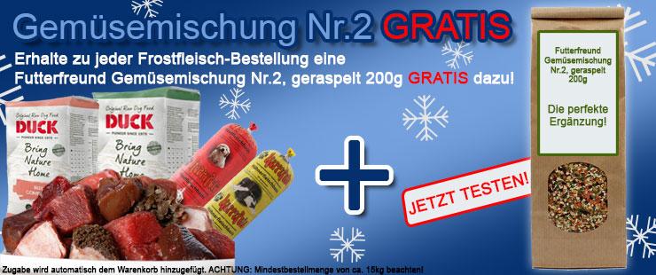 Frostfleisch + FF Gemüse Nr.2 gratis