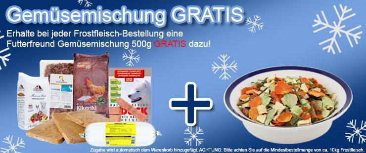 Frostfleisch + FF Gemüsemischung 500g