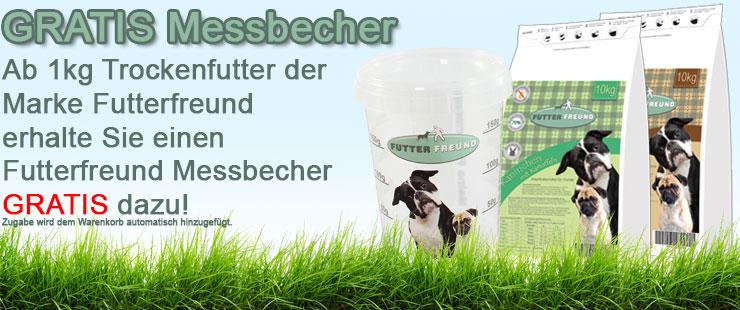 Futterfreund Trockenfutter + Messbecher
