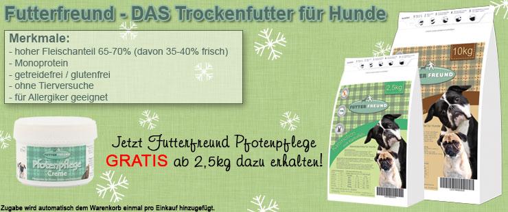 FF Trockenfutter + Pfotenpflege