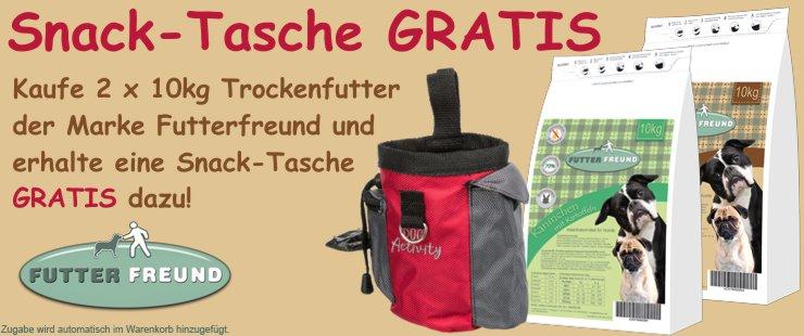 Futterfreund 2x10kg + Snack-Tasche