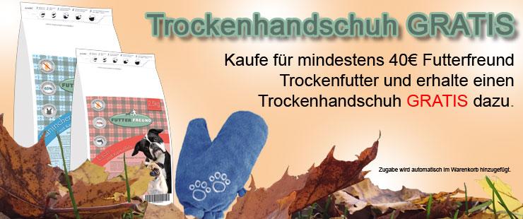 FF Trockenfutter + Trockenhandschuh