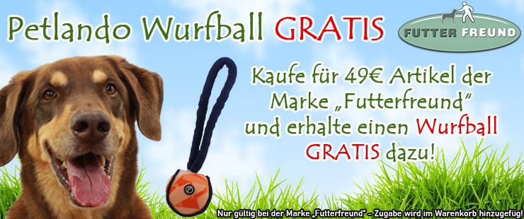 Zugabe Futterfreund - Wurfball