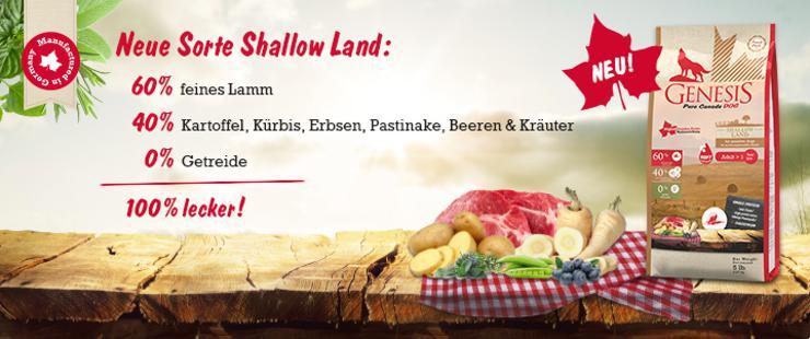 Genesis Shallow Land Soft - NEU