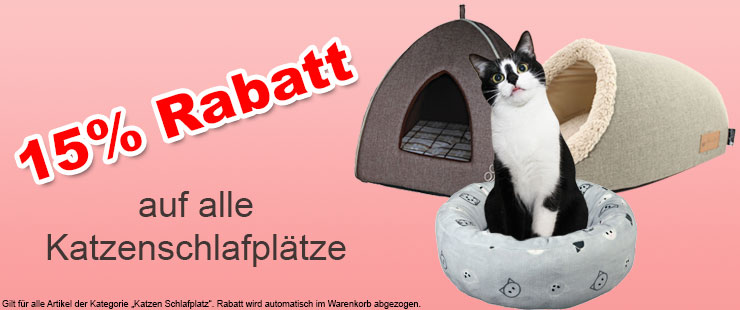 Katzen Schlafplatz 15%