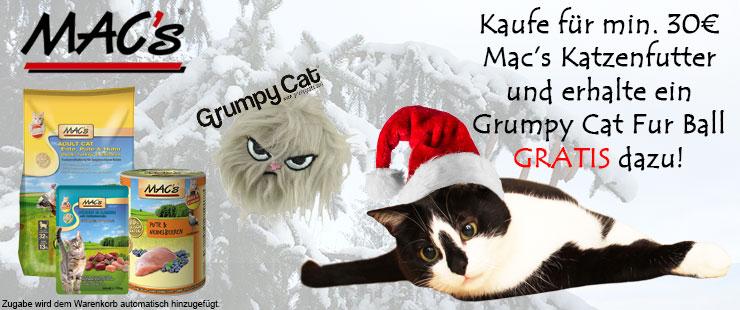 Macs Katzenfutter Zugabe