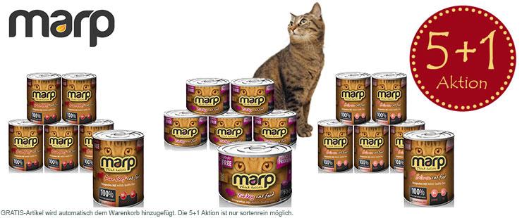 Marp Katze 5+1 Aktion