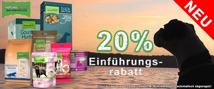 20% Natures Menu